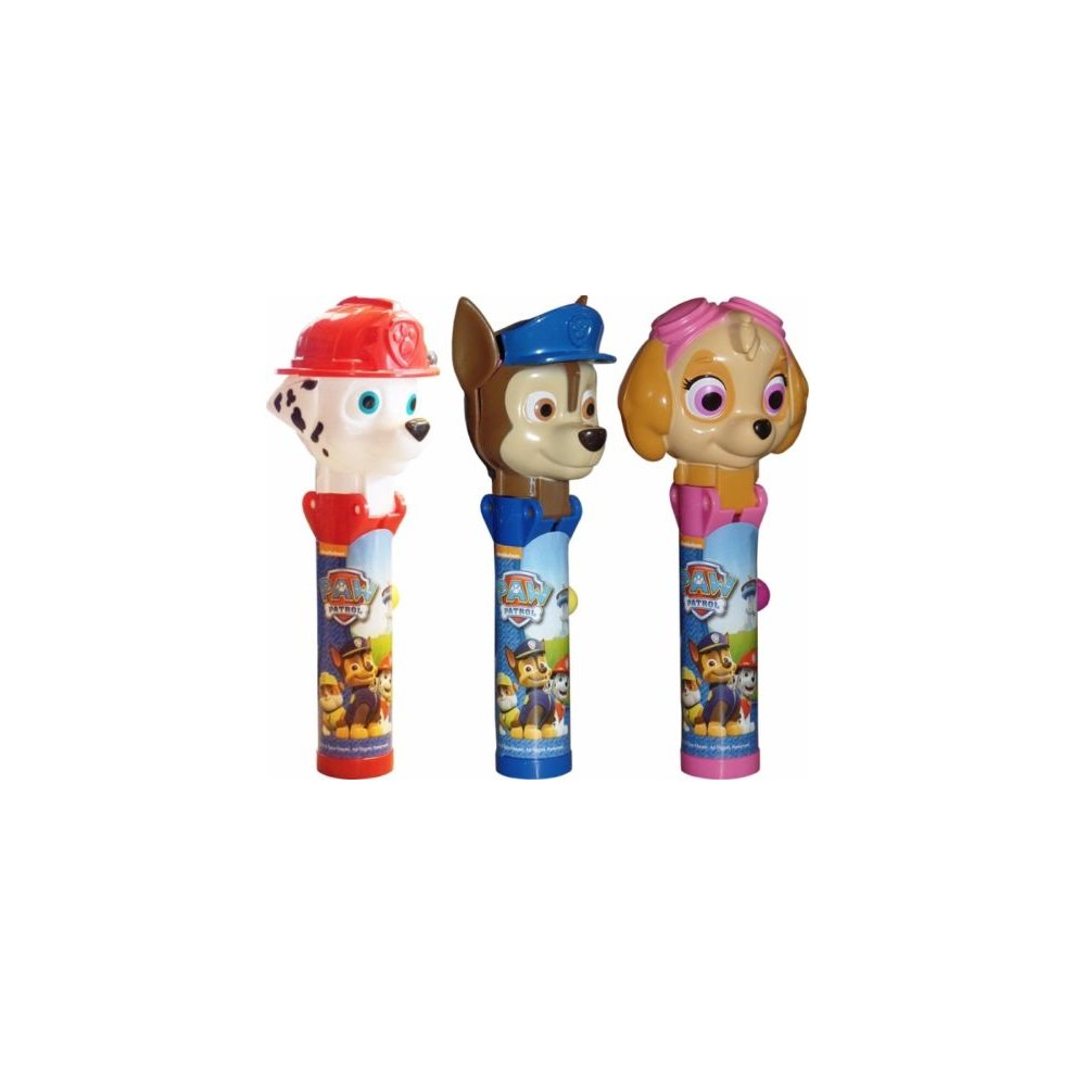 Paw Patrol Pop Ups! Lollipop 3 Pack Chase Skye Marshall