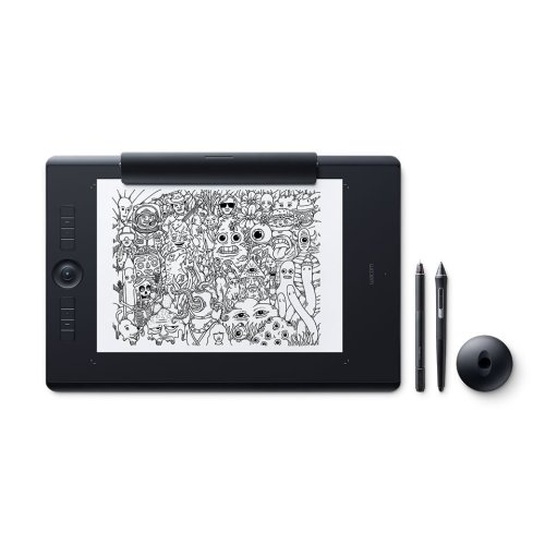 Wacom Intuos Pro Paper 5080lpi 311 x 216mm USB/Bluetooth Black graphic tablet