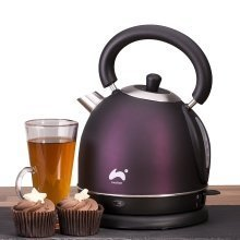 Ovation 2200W Plum Dome Kettle with 1.8L Capacity & Strix Control Integrated Boil Dry Protection