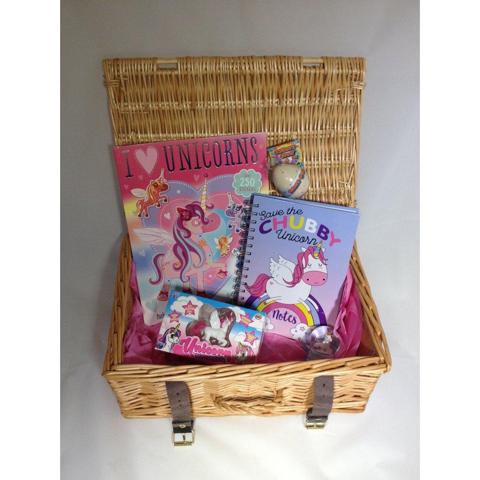 2ef0623e941d Magical Unicorn Gift Basket Hamper Magical Unicorn Gift Basket Hamper - 1. >