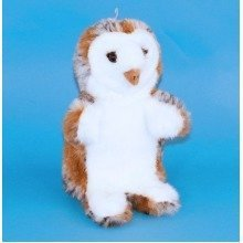 Dowman Barn Owl Hand Puppet Soft Toy 28cm