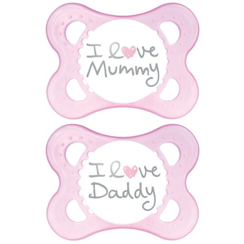 Mam Style 0+m Soother - Girl (pink)