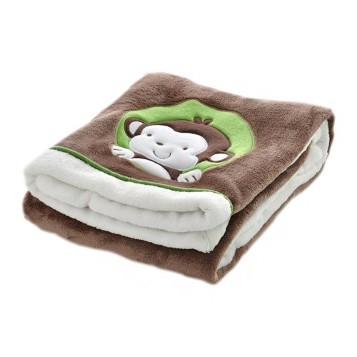 Soft Kids Blanket Office/Home Blanket for Nap,Brown,29.5x39.4x1.2 inches #16