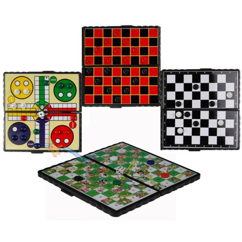 Set of 4 Magnetic Travel Games