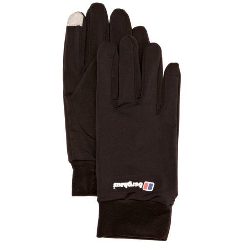 Berghaus Kids' Outdoor Gloves available in Black/Black - Medium