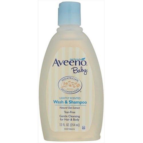 Aveeno Baby Wash and Shampoo, 12 Oz.