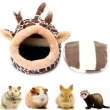 Giraffe Shaped Small Animal Bed Nest