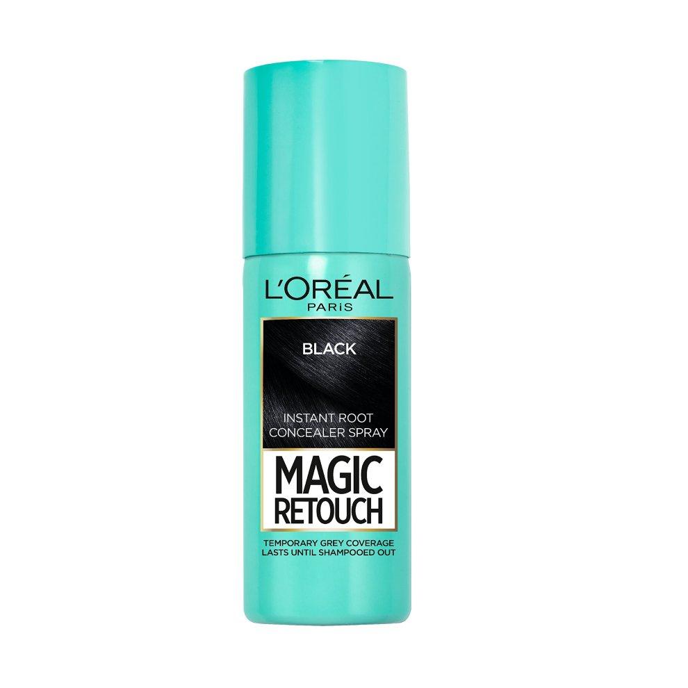 L'Oréal Magic Retouch Instant Root Touch Up, 75 Ml, Black