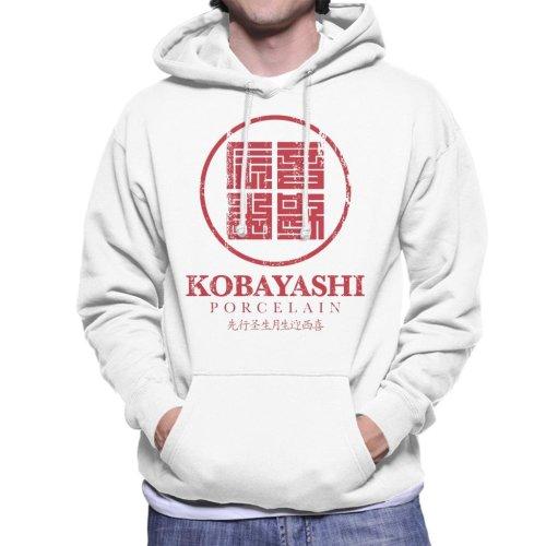 Kobayashi Porcelain Block Logo Usual Suspects Men's Hooded Sweatshirt
