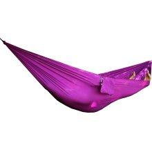 Single Person Ultralight Outdoor Hammock Camping Travel Hammock 90*230 CM-Purple