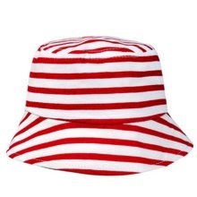 Durable Stripe Fisherman Baby Cap Sun-resistant Cotton Infant Hat