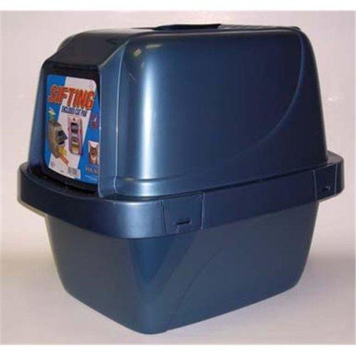 Van Ness Plastic Molding Sifting Enclosed Cat Pan Large - CP66