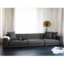 Sofa - Couch - Modular Sofa - 3 Seater - Dark Grey - CLOUD