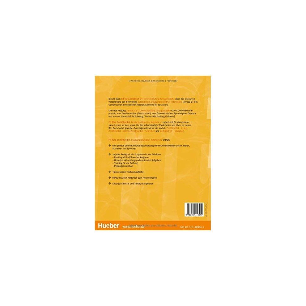 Fir Furs Zertifikat B1 Deutschprufung Fur Jugendliche Lehrbuch On