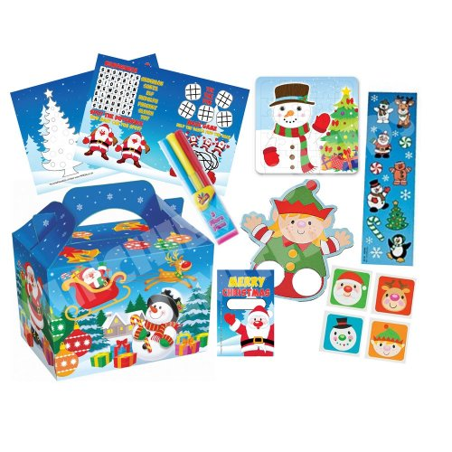 Pre Filled Christmas Party Box - Childrens Parties Gifts Bags
