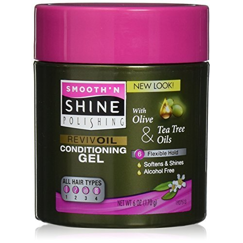 Smooth And Shine Extra Hold Conditioning Gel 6 Ounce