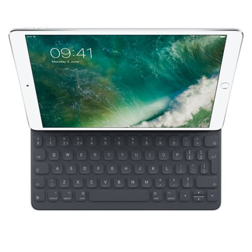 Apple Smart Smart Connector UK English Black mobile device keyboard