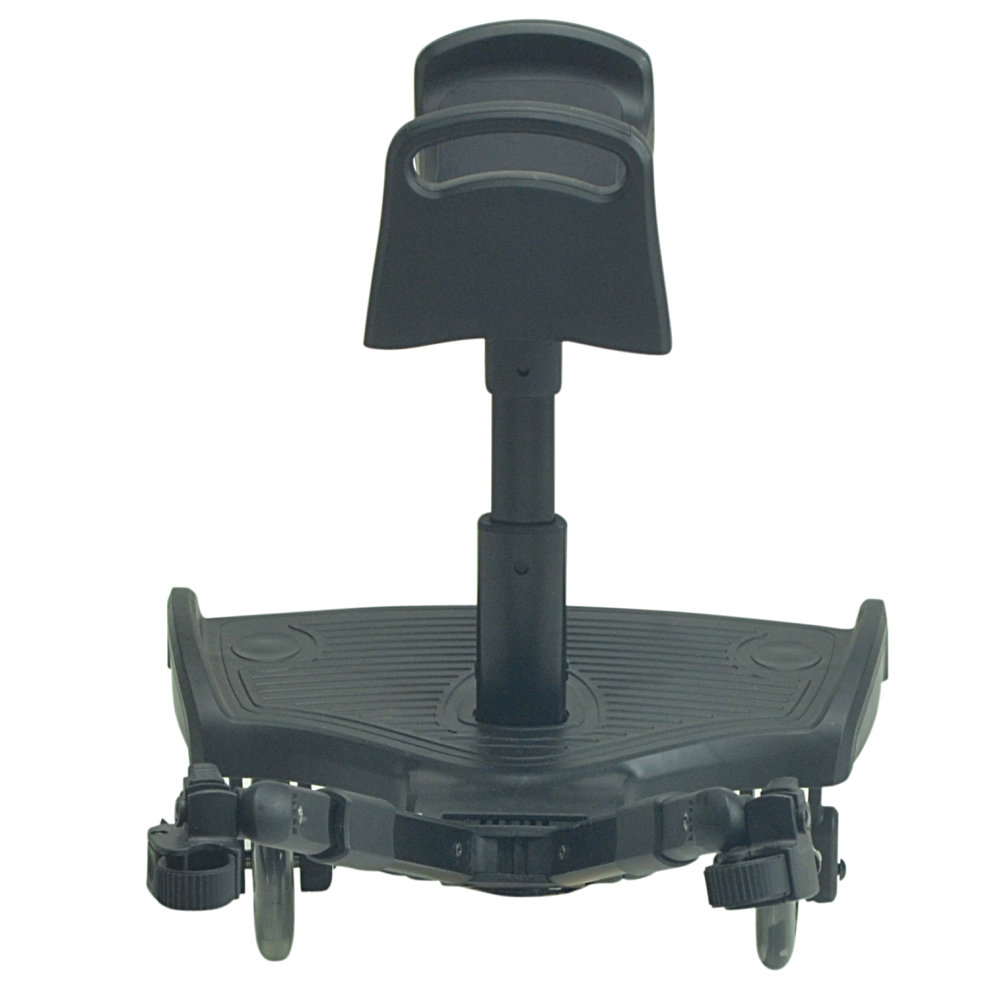 Black Ride On Board With Saddle Compatible With Uppababy Mesa Vista Cruz G-Luxe Lite