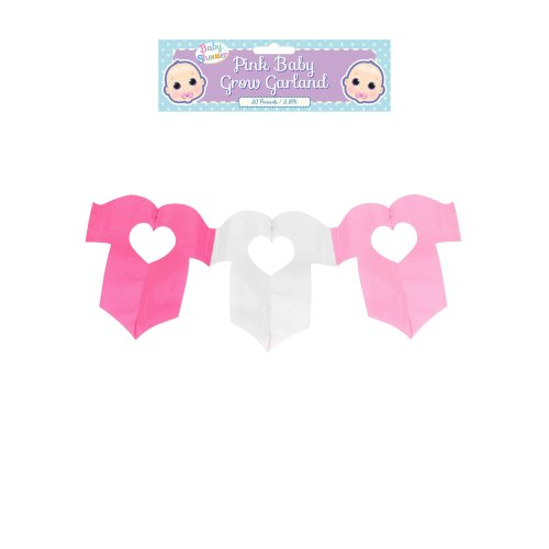 Decoration Garland Baby Grow Pink 2.6m
