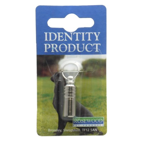 Dog Metal Id Tubes (Pack of 6)