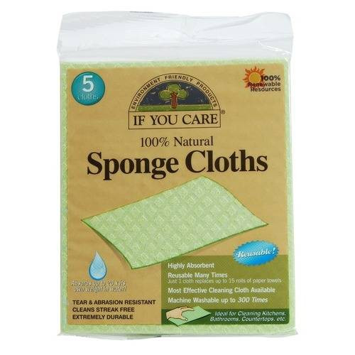 If You Care Sponge Cloths (5 Pack)