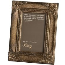 Hill Interiors Gilded Photo Frame, Antique Gold