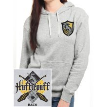 XXL Ladies Harry Potter House Hufflepuff Hooded Sweater -