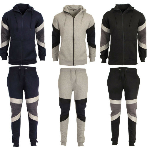 Mens Patch Contrast Full Tracksuit