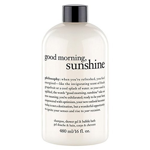 Philosophy Good Morning Sunshine Shampoo Shower Gel & Bubble Bath (16 oz)