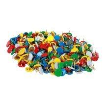 Bright-coloured Metal Push Pins/Sharp Durable Thumbtacks Pushpins/300 PCS
