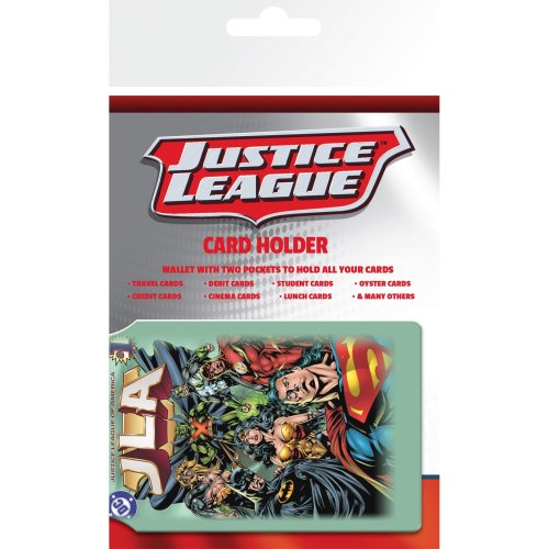 Dc Comics Justice League Travel Pass Card Holder