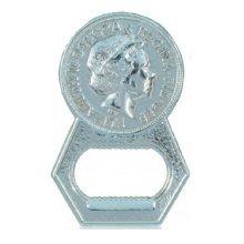 British Coin Fridge Magnet Bottle Opener Souvenir Gift Kitchen Queen Elizabeth UK GB