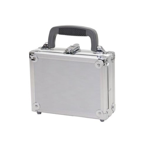 TZ Case PKG-08 S Aluminum Packaging Case, Silver - 3 x 6.5 x 8.5 in.