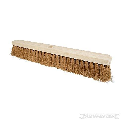 Silverline Broom Soft Coco 610mm (24?) - 24 656623 -  broom soft 610mm 24 silverline coco 656623