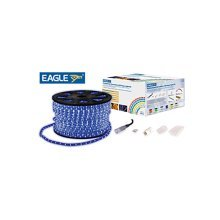 Eagle Static LED Rope Light Kit With Wiring Accessories Kit 90m