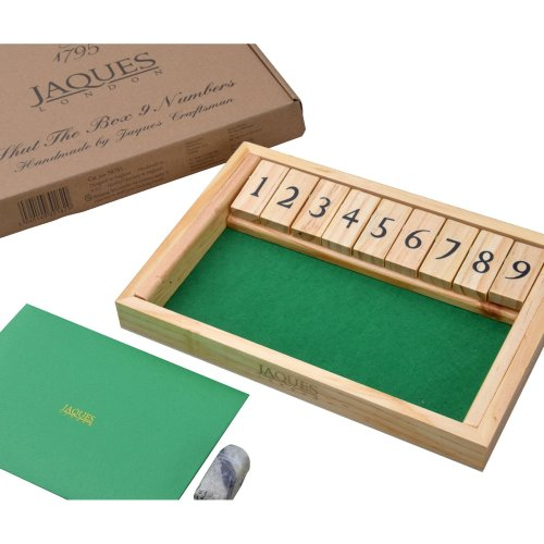 Shut the Box Dice Game - Luxury 9 Numbers - Jaques of London