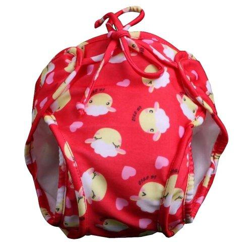[Red Sheep] Reuseable Baby Swim Diaper Lovely Infant Swim Nappy Swimwear