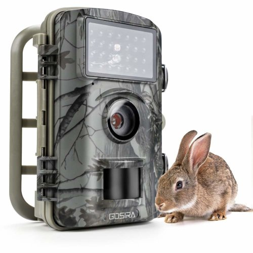 Gosira Wildlife Trail Trap Camera 0.5s Trigger 940nm Updated IR LED Night Vision 12MP 1080P For Outdoor Nature Garden Home Monitor Security