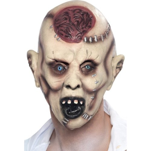 Smiffy's Autopsy Zombie Mask -  mask zombie autopsy halloween fancy dress smiffys horror