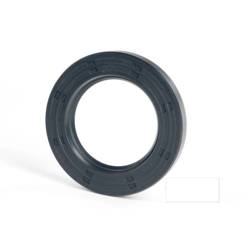 5x10x4mm Oil Seal Nitrile R21 Single Lip Springless 2 Pack