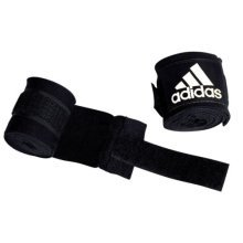 Adidas Hand Wraps - Black - Boxing 2.55m Boxing Gloves Accessory Sports Support - Black Adidas Boxing 2.55m Hand Wraps Boxing Gloves Accessory Sports