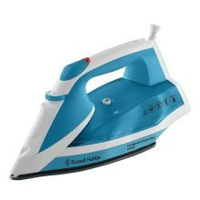 Russell Hobbs Supreme Steam Traditional Iron 2400W - White and Blue (23050)