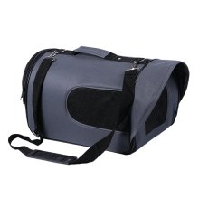 Pet Carrier Soft Sided Travel Bag for Small dogs & cats- Airline Approved, Grey #40