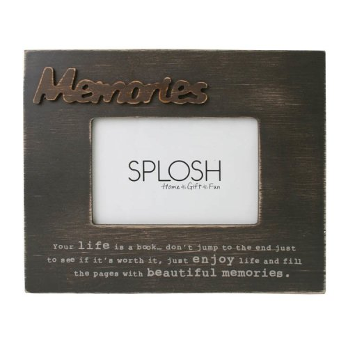 Memories Photo Frame - Splosh Expressions