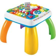 Mattel Fisher-Price DRH31 Fun Learning Game Table (German Version)