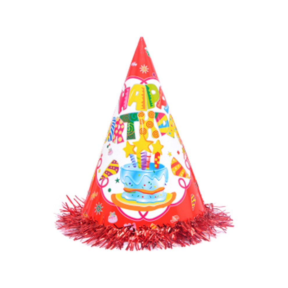 10 Pieces Funny Child Party Hat Birthday