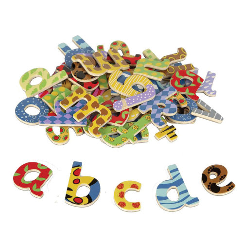 Tidlo Wooden Magnetic Letters (Lowercase)