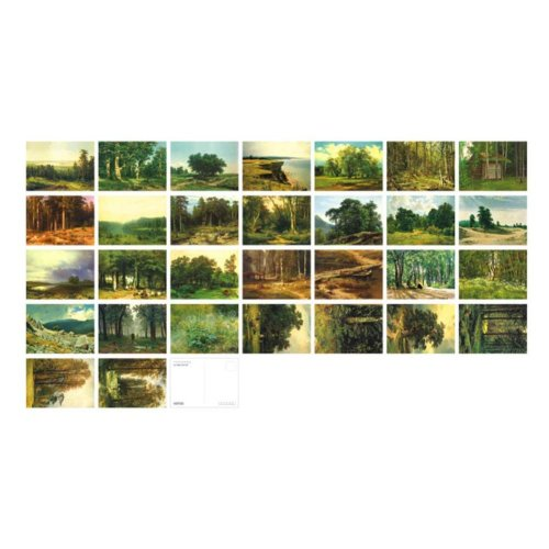 30 PCS Classic Beautiful Scenery Photo Postcards Artistic Greeting Cards- D7