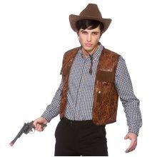 Distressed Cowboy Waistcoat