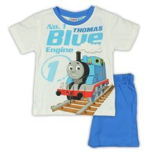 Thomas Short Pyjamas - White